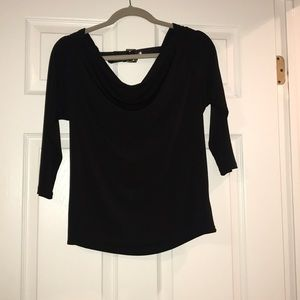 MK Black Top with open back